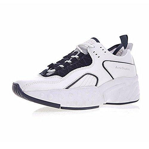 Acne Studios Manhattan Sneaker Chaussures de Sport Femmes Blanc