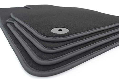 Fußmatten 911 991 (Velour) Premium Autoteppich 4-teilig schwarz