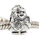 Andante-Stones original, plata de ley 925 sólida, cuenta de plata Vikingo caribeño, elemento bola para cuentas European Beads + saco de organza