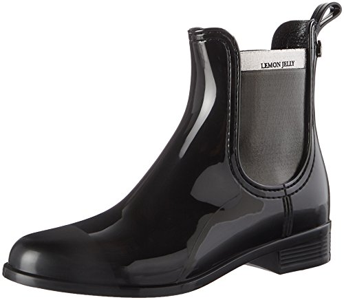 Lemon Jelly Abby, Chelsea Boots Femme Schwarz (Black)