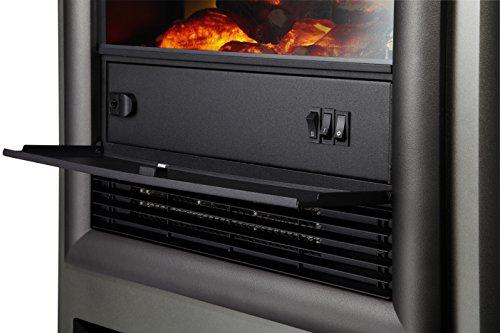ewt 114938 nordic de luxe elektrisches kaminfeuer mit fernbedienung 200 watt ventilator. Black Bedroom Furniture Sets. Home Design Ideas