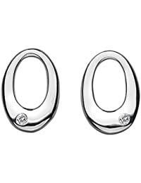 Hot Diamonds - DE033 - Boucles d'oreille Femme - Argent Sterling 3.00 Gr - diamant