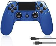 Powcan Controller Wireless per PS4/PS4 PRO / PS4 Slim/PC (Windows 7/8/10), Bluetooth Gamepad Controller DualSh