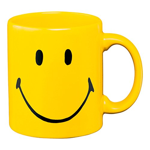 Tasse Motif smiley Jaune