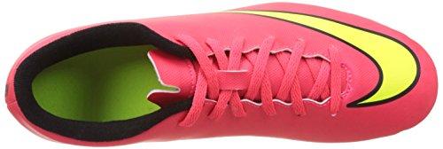 Nike Mercurial Vortex 2 Fg, Chaussures de football homme Rouge (Hypr Punch/Mtlc Gld Cn-Blk-Vlt)