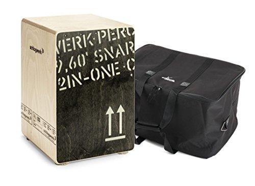 Schlagwerk CP403 Cajon 2inOne Black Edition Medium Set inkl. Tasche