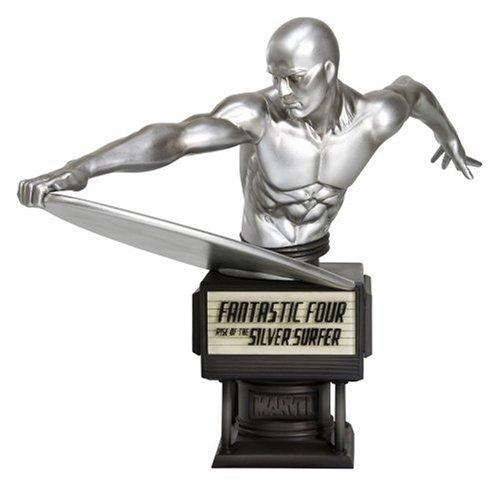 MARVEL - Figurine du Surfeur d'argent des 4 fantastiques