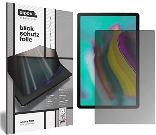 dipos I Blickschutzfolie matt passend für Samsung Galaxy Tab A 10.1 (2019) Sichtschutz-Folie Display-Schutzfolie Privacy-Filter - Galaxy Tab Samsung Bildschirm-glas
