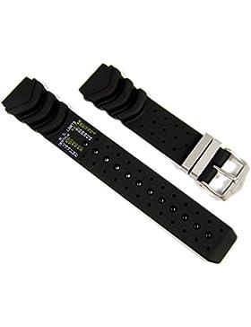 Original Citizen Ersatzband Uhrenarmband Kautschuk für Promaster Diver Aqualand BJ2030-08E Dekompressionstabelle...