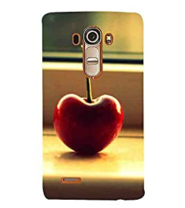 ForLGG4 apple, ripe apple, blur background Designer Printed High Quality Smooth Matte Protective Mobile Case Back Pouch Cover by Paresha