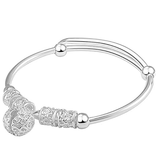 LRW Sterling Silber Armband Fashion Palace Bell und Silber Ornament - Fahrrad-kette Bell
