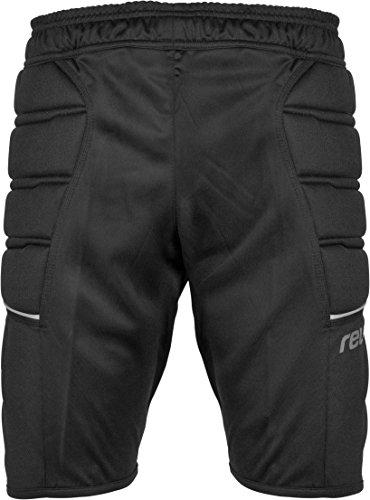 Reusch pantaloncini pantaloni da allenamento Compact da adulto, Unisex, Trainingshose Compact Shorts, nero, S