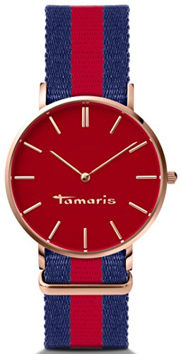 Tamaris Damen-Armbanduhr Analog Quarz B01260130