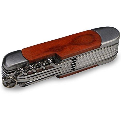 Couteau multifonctionel couteau de poche avec 12 fonctions de BB Sport