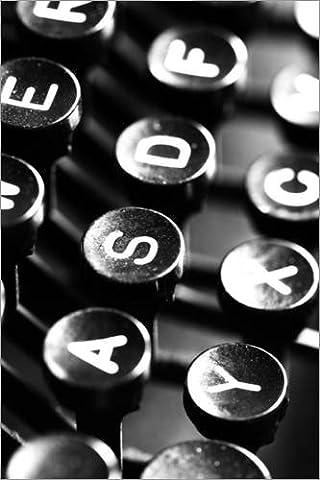 Forex-Print 70 x 110 cm: Typewriter keys by Falko Follert Art-FF77