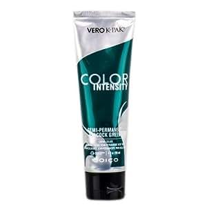 Joico Intensity Semi-Permanent Hair Color, Peacock Green, 4 Ounce