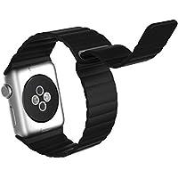 Cinturino Apple Watch, JETech® 42mm Apple Watch Vera Pelle Loop con Unico Magnete di Blocco Strap Replacement Band per Apple Watch 42mm Tutte le modelle No Buckle Needed (Loop in Pelle -