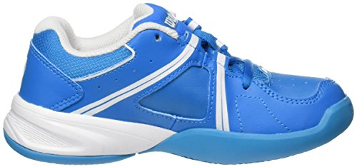 Wilson Wrs322310e, Chaussures de Tennis Mixte Enfant Bleu (Methyl Blue / White / Hawaiian Ocean)