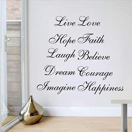 Beike Inspirationsworten Wandquote Home Decor Großhandel Wandaufkleber 130 * 72Cm - Großhandel Esszimmer-sets