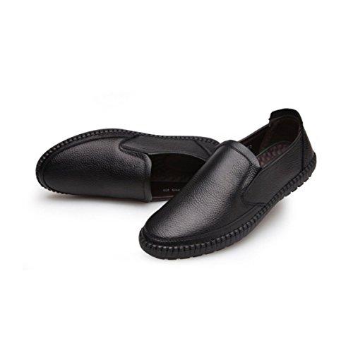 LYZGF Papa Des Hommes Automne Loisirs Mode Harnais De Conduite Confortable Et Des Ensembles De Chaussures Black