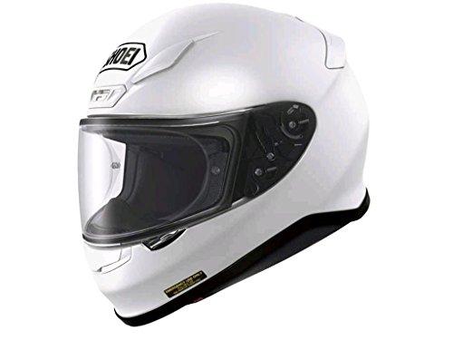 Nuova 2015 Shoei NXR pianura bianco moto casco