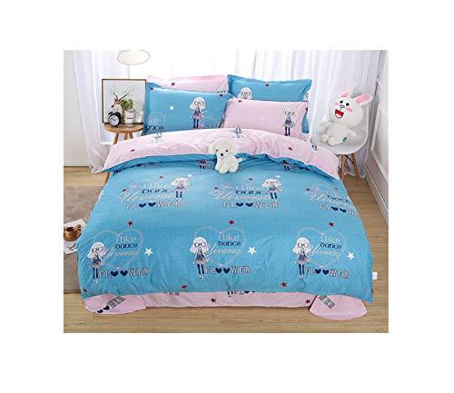 The Unbelievable Dream Bettbezug doppelseitige bettwäsche Set Baumwolle waschbar einfache niedliche Kinder Kinder Erwachsene Traum Urlaub, 1