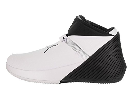 Nike Herren Air Jordan Why Not Zer0.1 Weiß Leder/Synthetik Basketballschuhe 43 (Schuhe Für Männer-nike Air Jordan)