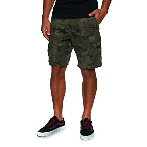 Volcom-print-shorts (Volcom Herren Miter ll Shorts-Cargo, Camouflage, 32)