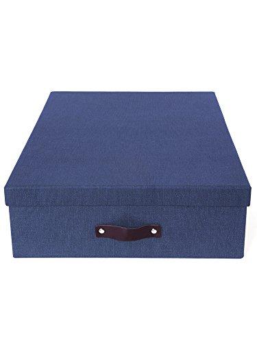 Bigso Box of Sweden 6341C3843 Scatola con 12 divisori pannello di fibra, 43 x 31 x 10,5 cm - Divisori Di Fibra Divisori