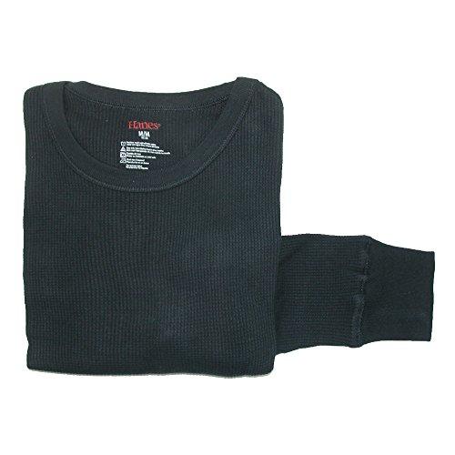 hanes-maglia-termiche-basic-donna-black-x-large