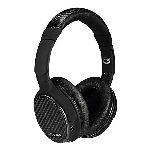 Ausdom M05sans Fil/Filaire à Double Mode 2en 1Bluetooth Over-Ear Casque stéréo-Noir