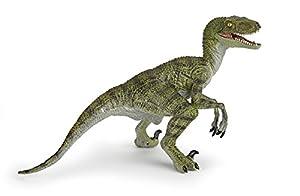 Papo Toys - Figura de Velociraptor, Color Verde (55058)