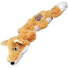 Kong Scrunch nudos Fox perro de juguete, medio/grande