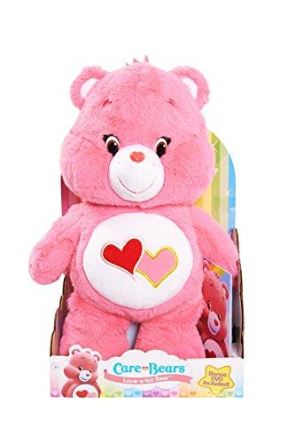 Just Play Care Bears Love-a-Lot Medium Plüsch mit DVD