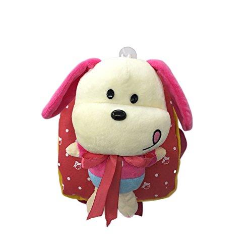 37930d6383 Flyingsky 3D Removable Puppy Doll Kids Backpack Animal Baby Boys Girls Kids  Bag Red - Buy Online in Oman.