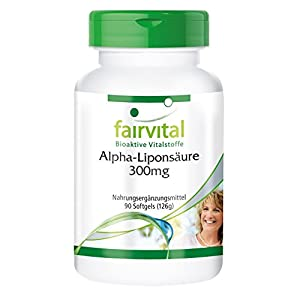 41b3956DNOL. SS300  - Alpha-lipoic Acid 300mg, Without Magnesium Stearate, 90 softgels