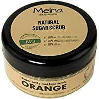 meina Natural cosmético – Natural exfoliante corporal – Azucarero con naranja (1 x 280 g