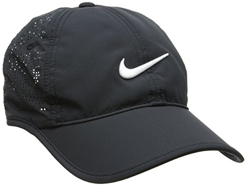 Nike Damen Golfkappe Performance, black/white, One Size, 742707-010