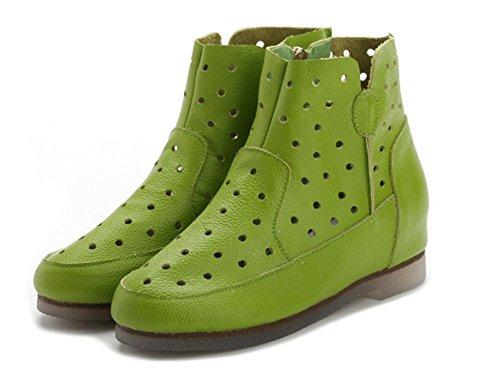 Dans Les Bottes Des Femmes Les Plus Grandes Du Printemps Et De L'automne Des Bottes Vides Mais Miss Dingxue Green