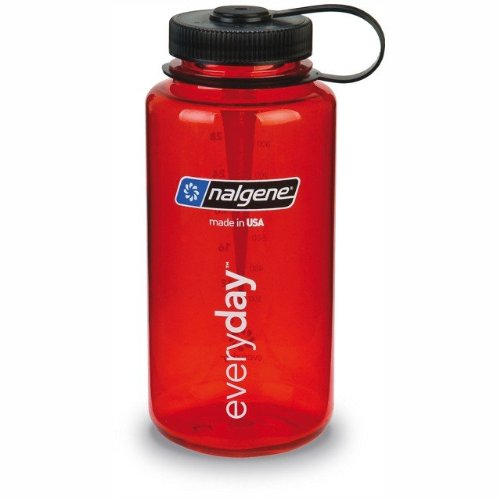 Nalgene Classic Wide Mouth 1,0 l rot Rot Wide Mouth