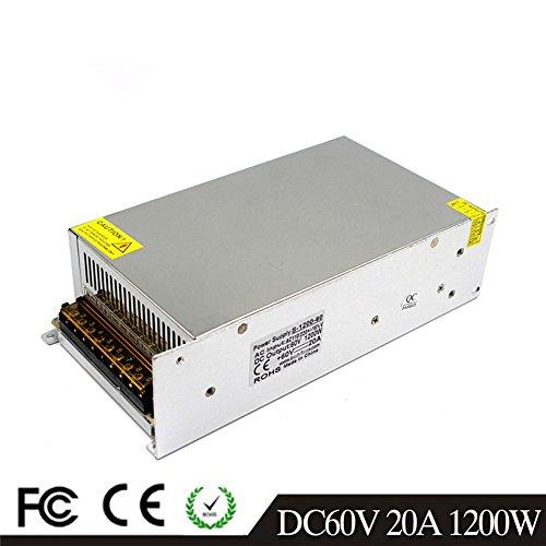 60V 20A 1200W LED Fahren Schaltnetzteil Die Industrielle Energieversorgung Monitor - ausrüstungen Motor Transformator cctv 220VAC-DC60V Switching Power Supply