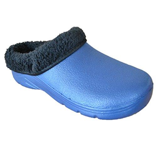 & Pantoletten  Blau navy UK: 11, EUR: 45 (Christmas Elf Schuhe)