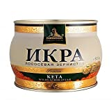 Kaviar - Zarendom Keta Lachskaviar Premium 500 g Dose - roter Kaviar - caviar - икра