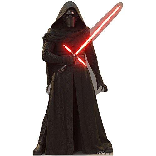 Star Wars Episodio VII: The Force Awakens–Advanced gráficos Vida Tamaño de Cartón Standup