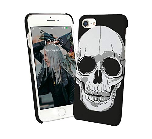 Black White Skull Dark Gothic Metal Metalica Rock and Roll Revolution Dead Human Case for Compatible with Huawei P30 PRO Handyhulle Hülle SchutzCover Bumper Shell Protective Protection Revolution Holster