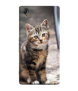 Fuson Designer Back Case Cover for Sony Xperia Z1 :: Sony Xperia Z1 L39h :: Sony Xperia Z1 C6902/L39h :: Sony Xperia Z1 C6903 :: Sony Xperia Z1 C6906 :: Sony Xperia Z1 C6943 (girl alone lonely sky clouds)