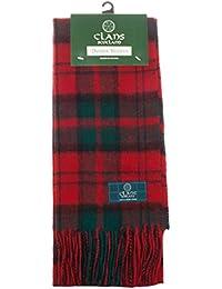 Dei Clan di scozia Pure in lana Tartan Scozzese sciarpa 285fb3f25c9b