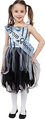 Onlyglobal Mädchen blutig Prom Queen schulkostüm Teen Halloween Kostüm Party Outfit - Multi, Large
