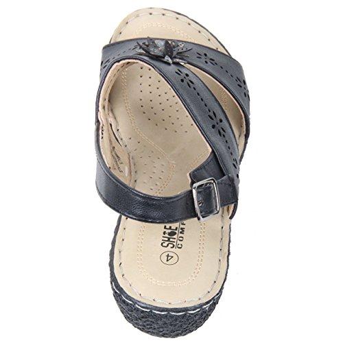 Shoe Tree , Sandales pour femme Noir