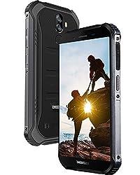 DOOGEE S40 LITE Outdoor Smartphone Ohne Vertrag, Android 9.0 IP68 Robustes Handy, Stoßfest Wasserdicht 4650mAh-Akku, 5,5 Zoll Gorilla Glass 4, 2GB + 16GB, 3G Dual SIM, 8MP+5MP Dual Kamera, Black